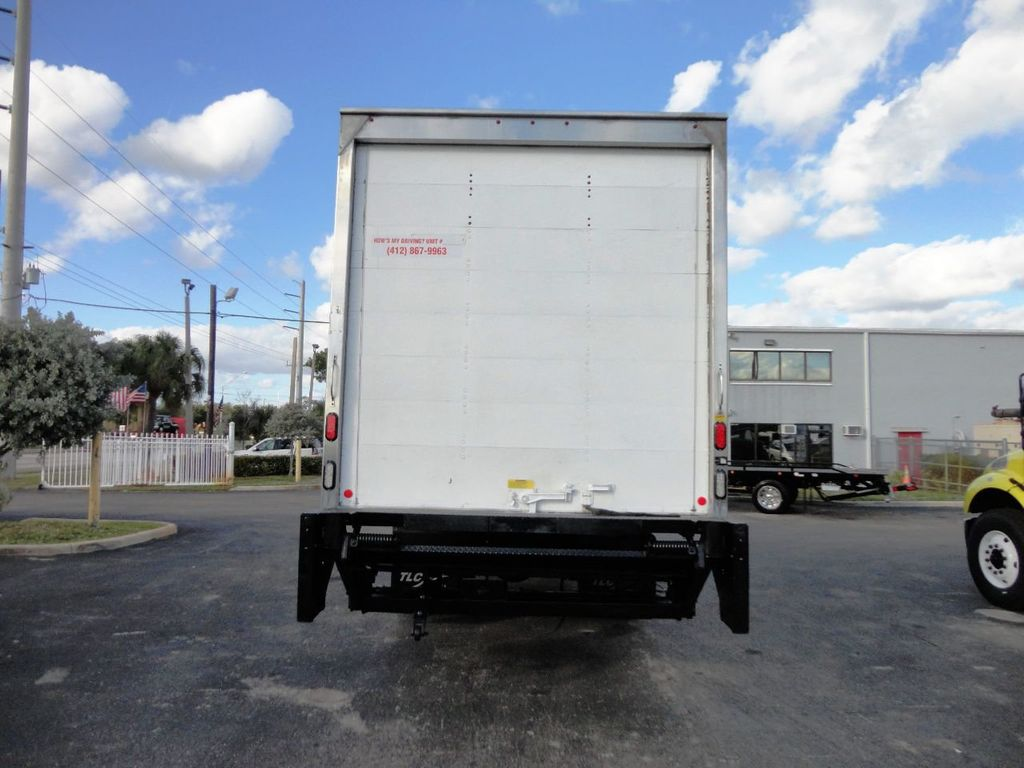 2016 HINO 268A 26FT DRY BOX TRUCK . CARGO TRUCK WITH LIFTGATE - 18388525 - 5