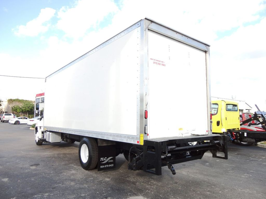2016 HINO 268A 26FT DRY BOX TRUCK . CARGO TRUCK WITH LIFTGATE - 18388525 - 6