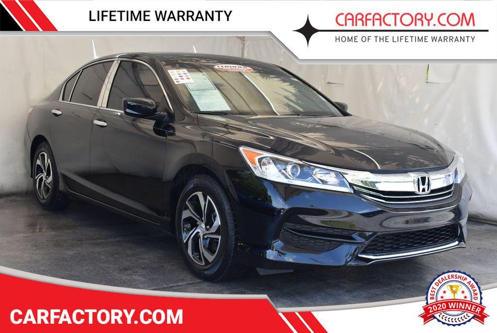 2016 Used Honda Accord Sedan 4dr I4 Cvt Lx At Car Factory Outlet