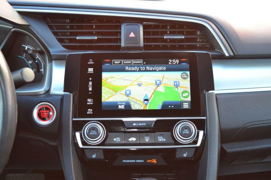 2016 Honda Civic Coupe Honda Civic Touring Navigation Backup Camera Moonroof - 18692899 - 10