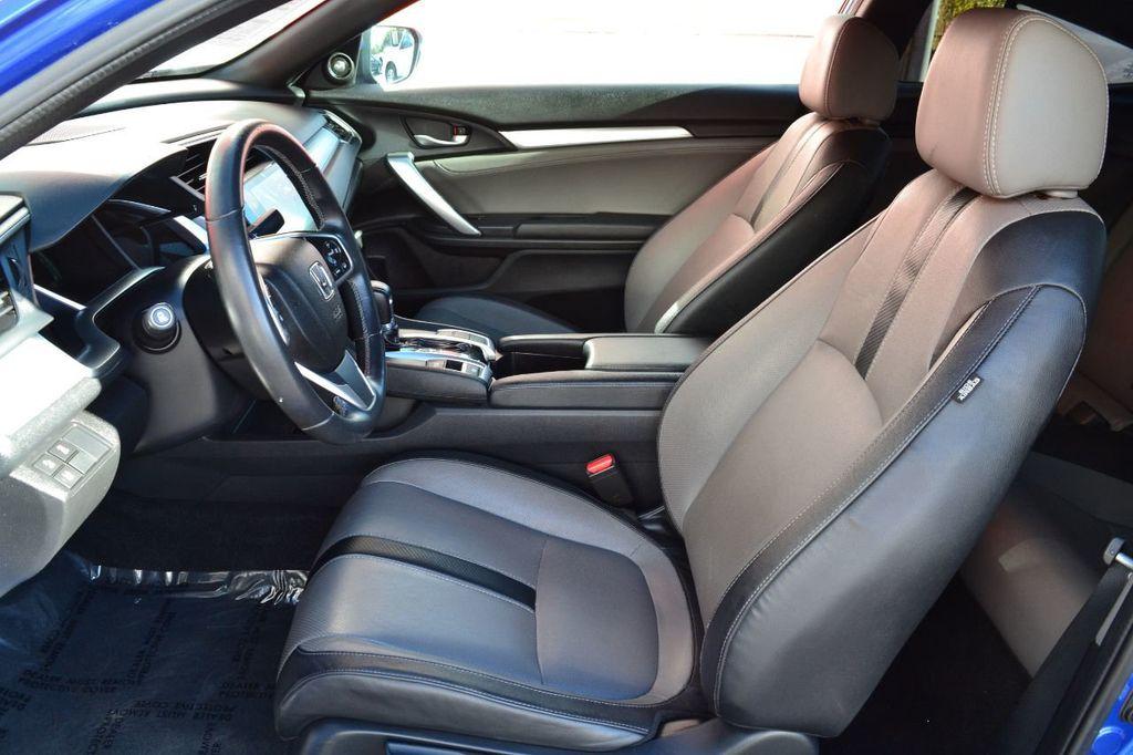 2016 Honda Civic Coupe Honda Civic Touring Navigation Backup Camera Moonroof - 18692899 - 12