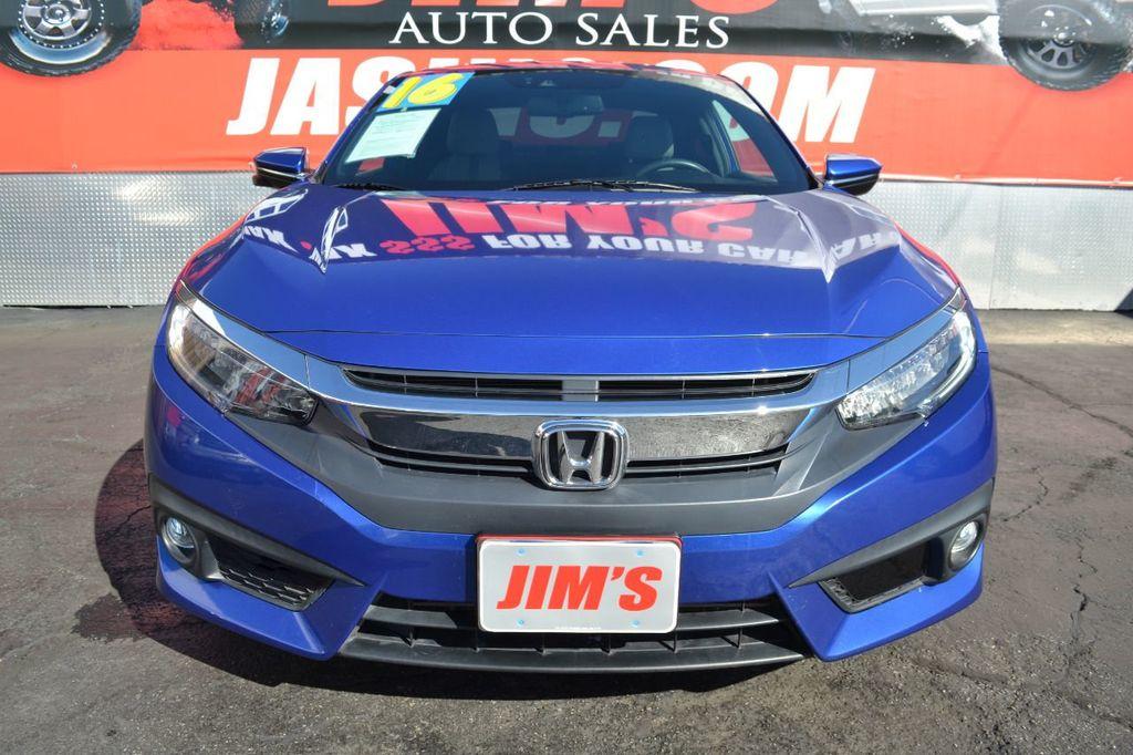 2016 Honda Civic Coupe Honda Civic Touring Navigation Backup Camera Moonroof - 18692899 - 1