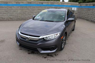 2016 Honda Civic Sedan 4dr CVT EX w/Honda Sensing Sedan - Click to see full-size photo viewer