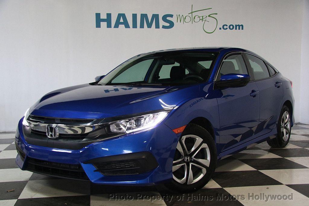 2016 Honda Civic Sedan 4dr CVT LX - 17297350 - 1