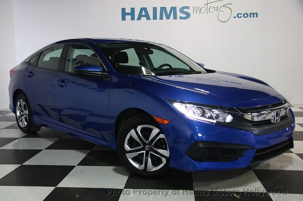 2016 Honda Civic Sedan 4dr CVT LX - 17297350 - 3