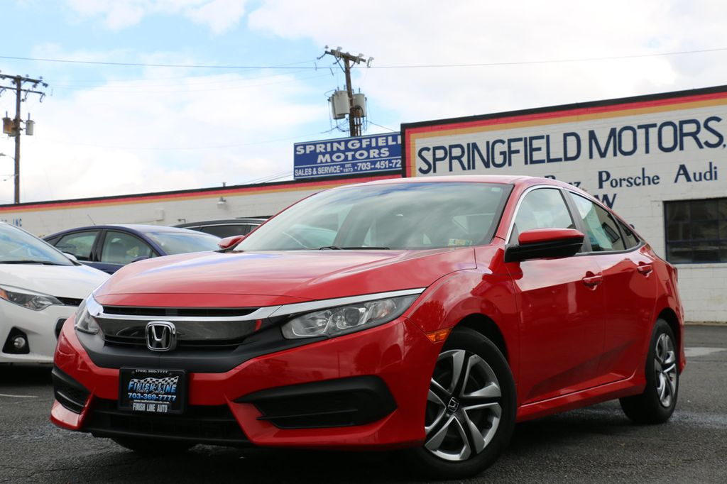 2016 Honda Civic Sedan 4dr CVT LX - 17550318 - 2