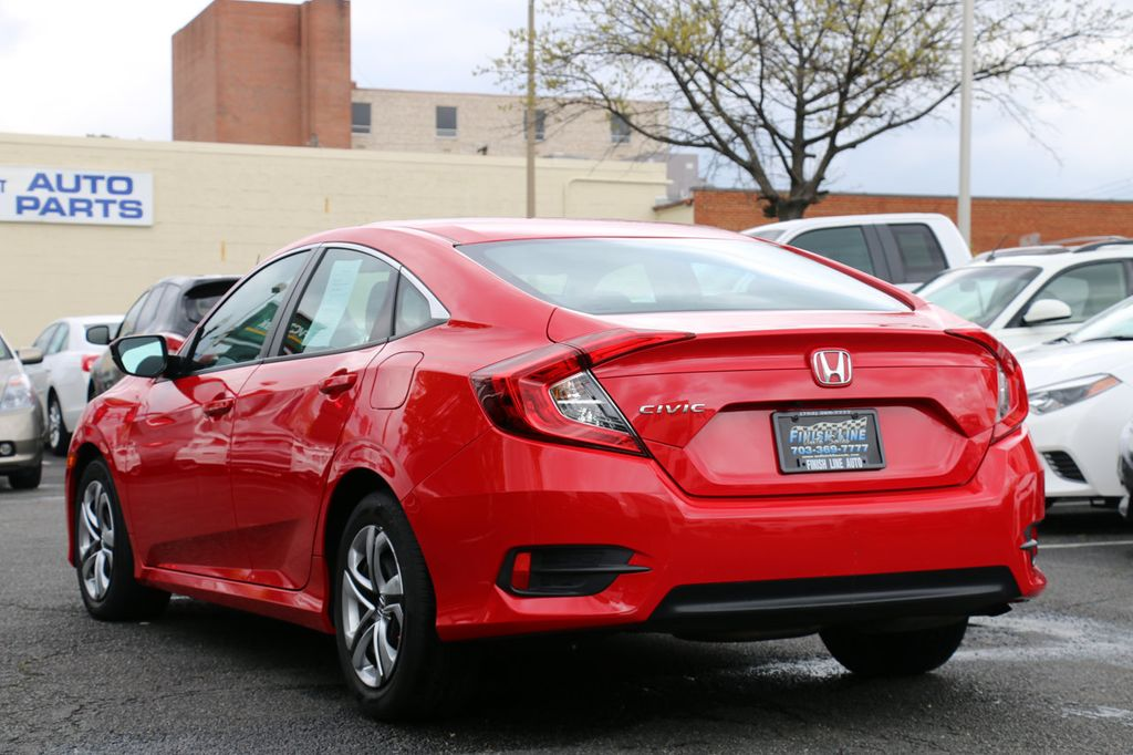 2016 Honda Civic Sedan 4dr CVT LX - 17550318 - 8
