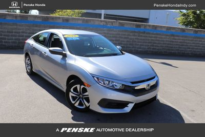 2016 Honda Civic Sedan 4dr CVT LX Sedan