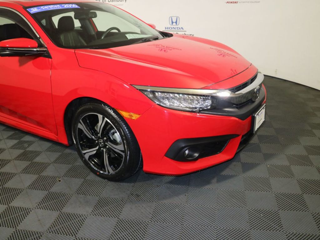 2016 Honda Civic Sedan 4dr CVT Touring - 18379299 - 1