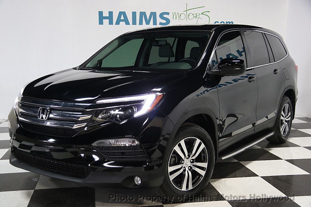 2016 used honda pilot 2wd 4dr ex l at haims motors serving. Black Bedroom Furniture Sets. Home Design Ideas