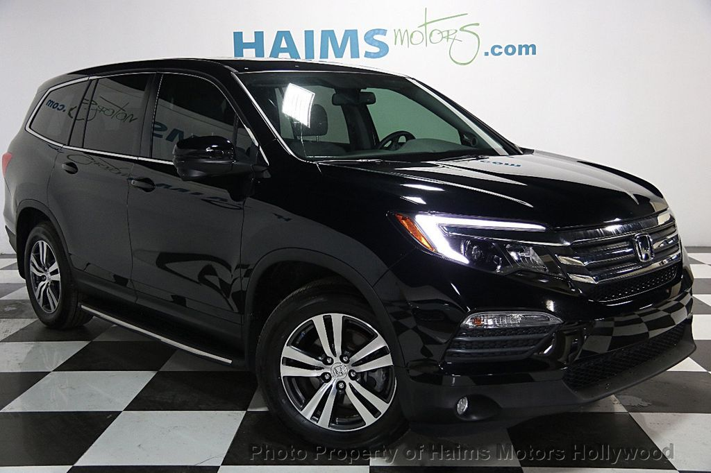 2016 Used Honda Pilot 2WD 4dr EX-L at Haims Motors Serving Fort Lauderdale, Hollywood, Miami, FL ...