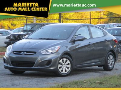 2016 Hyundai Accent 4dr Sedan Automatic SE