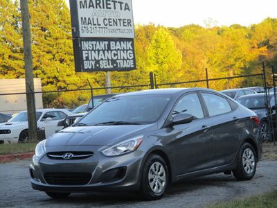 2016 Hyundai Accent 4dr Sedan Automatic SE - Click to see full-size photo viewer
