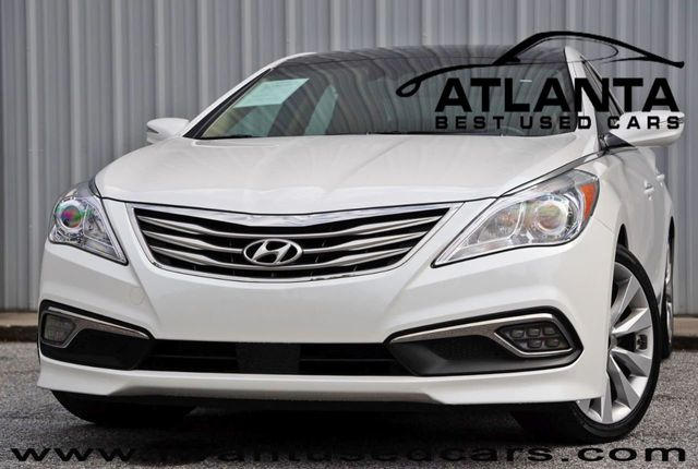 Hyundai Azera 2016 >> 2016 Used Hyundai Azera 4dr Sedan Limited At Atlanta Best Used Cars Serving Peachtree Corners Ga Iid 19214112