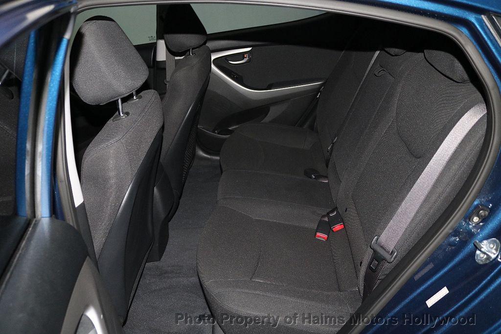 2016 Hyundai Elantra 4dr Sedan Automatic Value Edition - 18534901 - 14