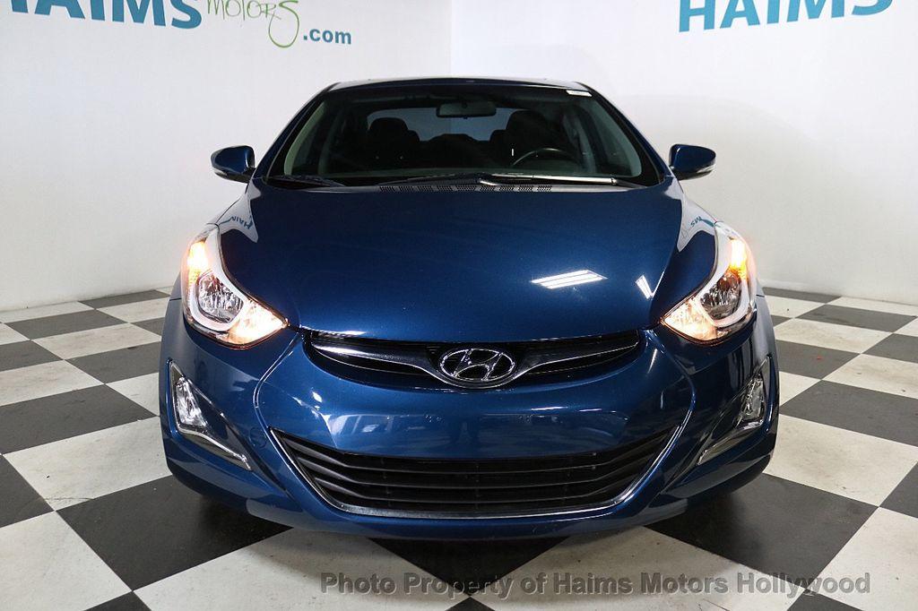 2016 Hyundai Elantra 4dr Sedan Automatic Value Edition - 18534901 - 2