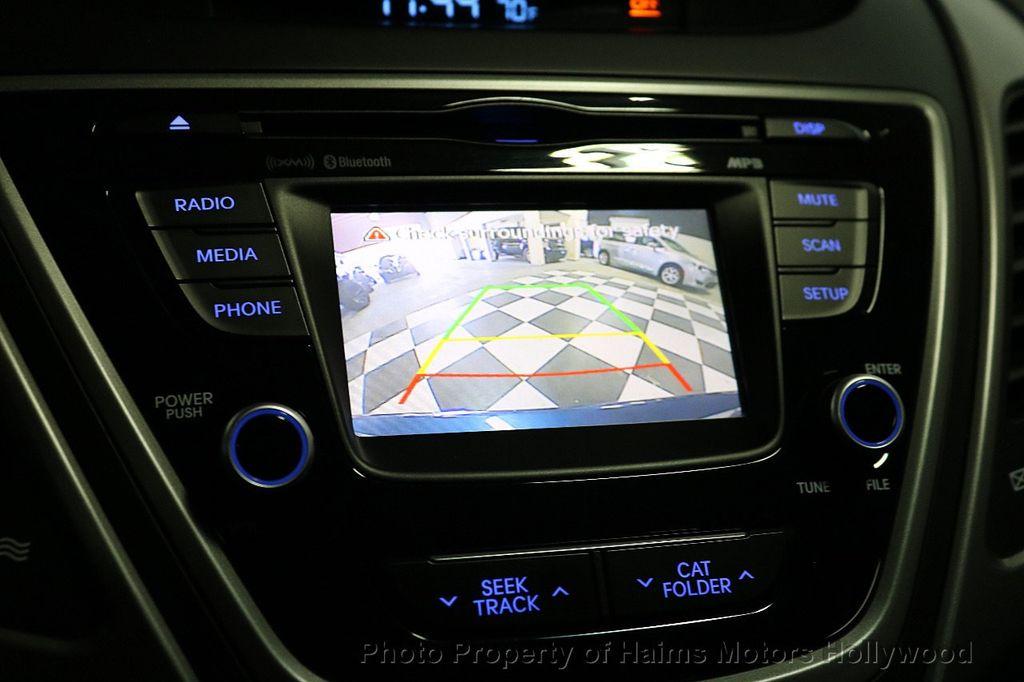 2016 Hyundai Elantra 4dr Sedan Automatic Value Edition - 18534901 - 29