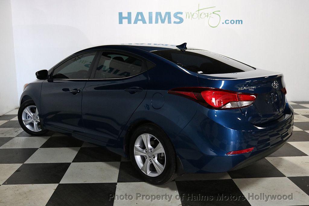 2016 Hyundai Elantra 4dr Sedan Automatic Value Edition - 18534901 - 4