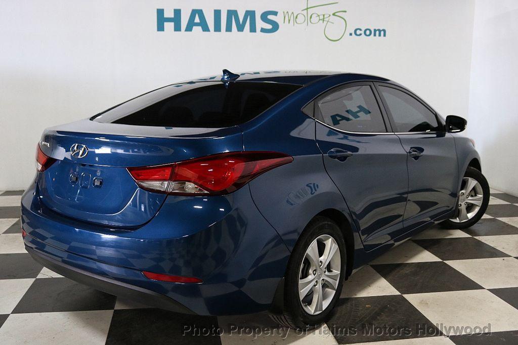 2016 Hyundai Elantra 4dr Sedan Automatic Value Edition - 18534901 - 6