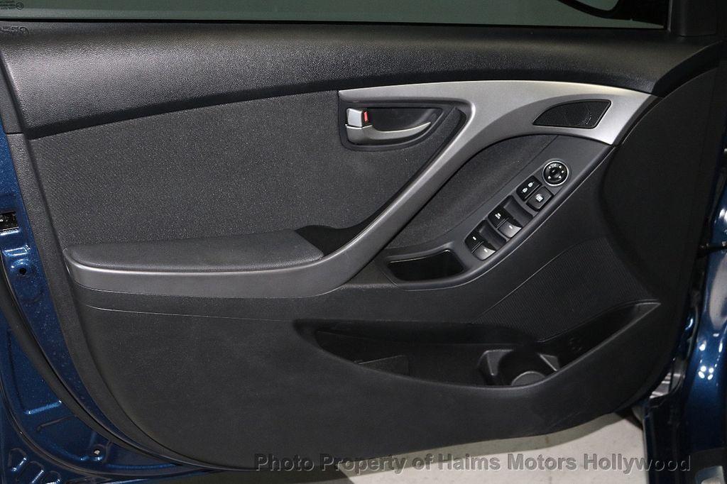2016 Hyundai Elantra 4dr Sedan Automatic Value Edition - 18534901 - 8