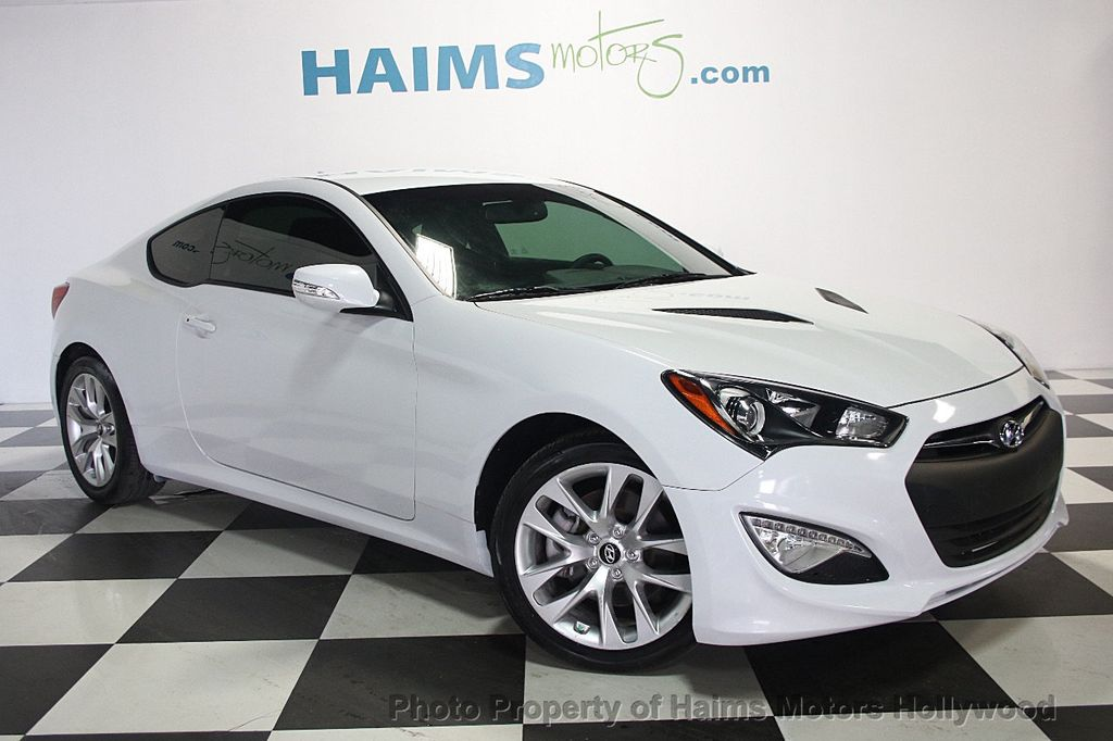 2016 used hyundai genesis coupe 2dr 3 8l automatic w black seats at haims motors serving fort. Black Bedroom Furniture Sets. Home Design Ideas