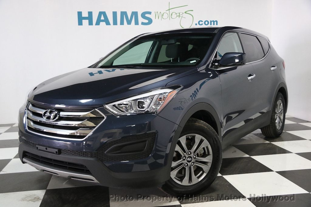 2016 used hyundai santa fe sport fwd 4dr 2 4 at haims motors hollywood serving fort lauderdale. Black Bedroom Furniture Sets. Home Design Ideas