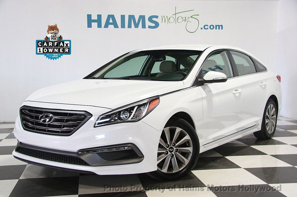 2016 Used Hyundai Sonata 4dr Sedan 2 4L Limited at Haims Motors