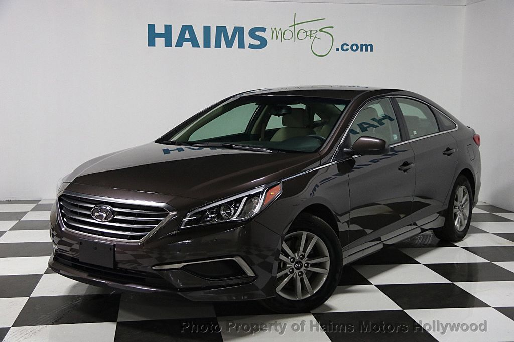 2016 Used Hyundai Sonata 4dr Sedan 2 4L SE at Haims Motors Serving