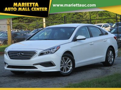 2016 Hyundai Sonata 4dr Sedan 2.4L SE - Click to see full-size photo viewer