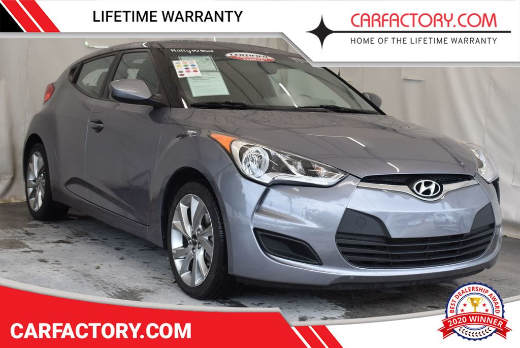 2016 Hyundai Veloster 3dr Coupe Automatic - 17678679 - 0