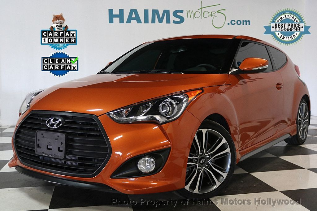 2016 Hyundai Veloster 3dr Coupe Automatic Turbo - 17509750 - 0