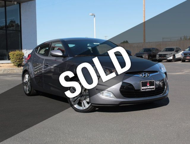 2016 Hyundai Veloster 3dr Coupe Automatic w/Yellow Accent