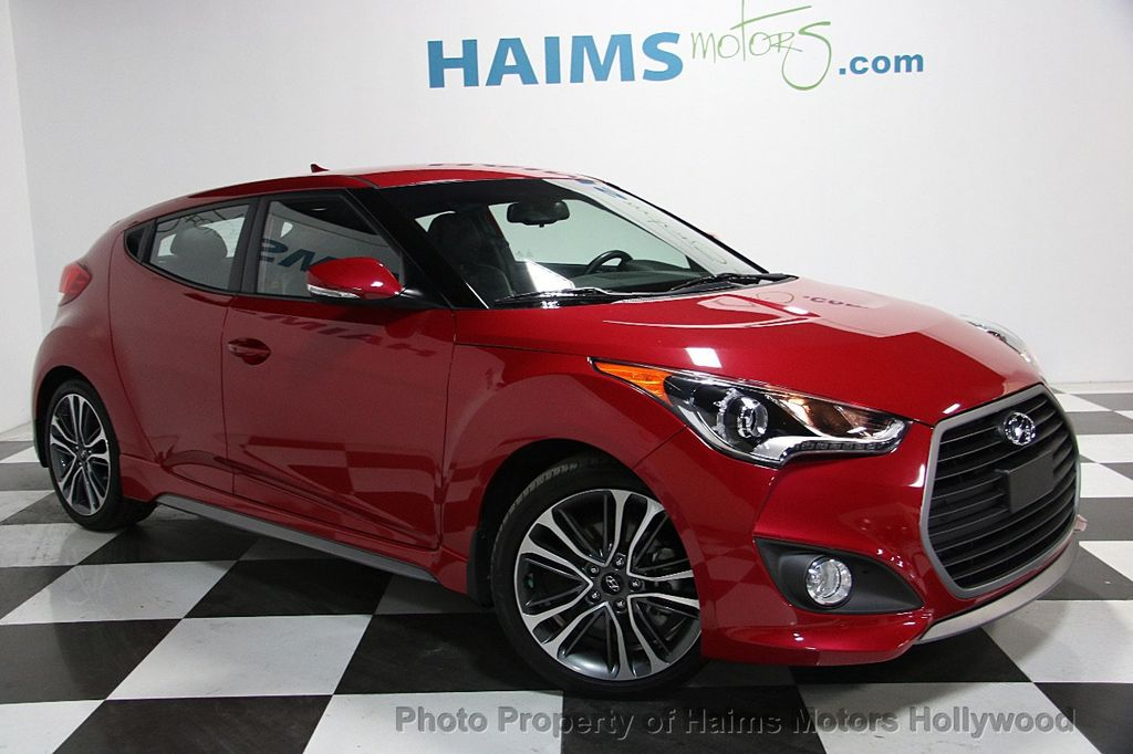 2016 used hyundai veloster 3dr coupe manual turbo at haims motors serving fort lauderdale. Black Bedroom Furniture Sets. Home Design Ideas