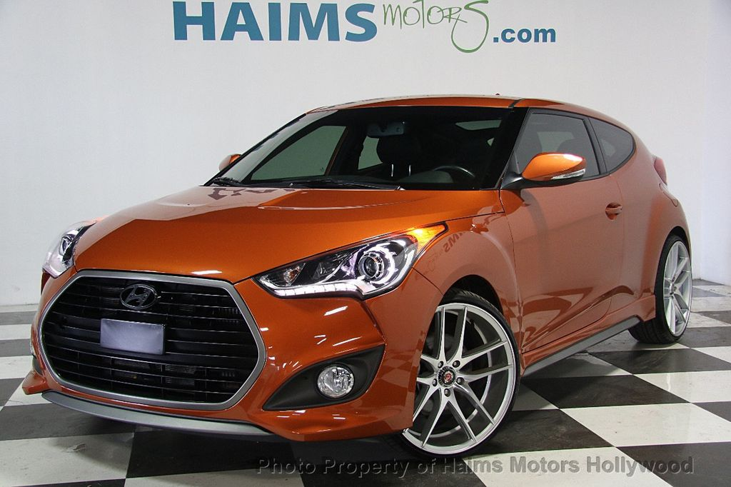2016 Hyundai Veloster 3dr Coupe Manual Turbo - 17075291 - 1
