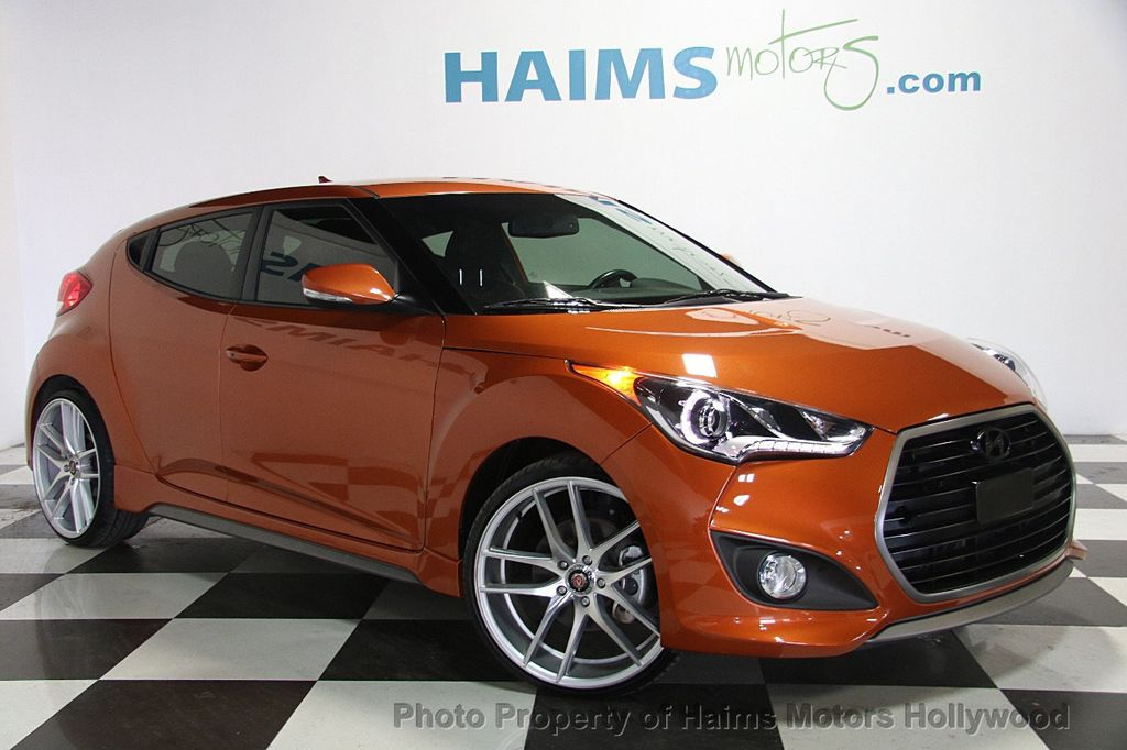 2016 Hyundai Veloster 3dr Coupe Manual Turbo - 17075291 - 3