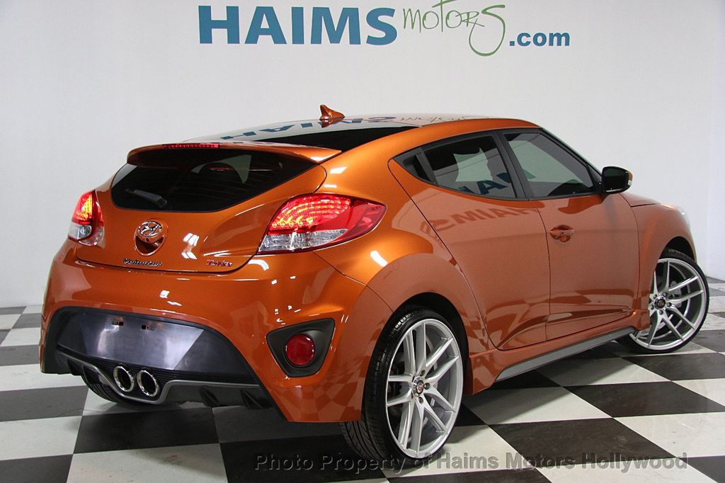 2016 hyundai veloster 3dr coupe manual turbo coupe for sale in hollywood fl 13 777 on. Black Bedroom Furniture Sets. Home Design Ideas