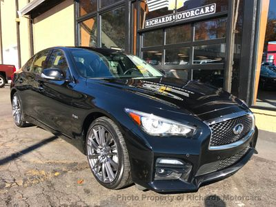 2016 INFINITI Q50 4dr Sedan 3.0t Red Sport 400 AWD