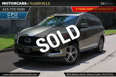 2015 Used INFINITI QX60 AWD w/Theater Package at MotorCars