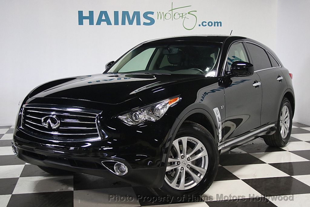 2016 used infiniti qx70 rwd 4dr at haims motors serving. Black Bedroom Furniture Sets. Home Design Ideas