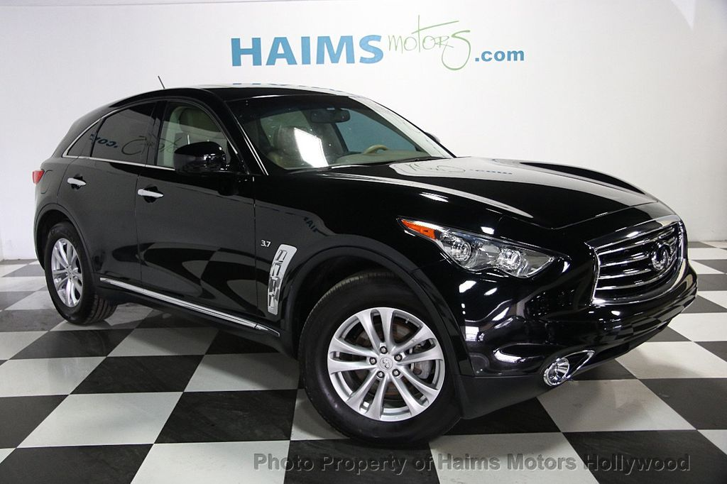 2016 used infiniti qx70 rwd 4dr at haims motors ft lauderdale serving lauderdale lakes fl iid. Black Bedroom Furniture Sets. Home Design Ideas