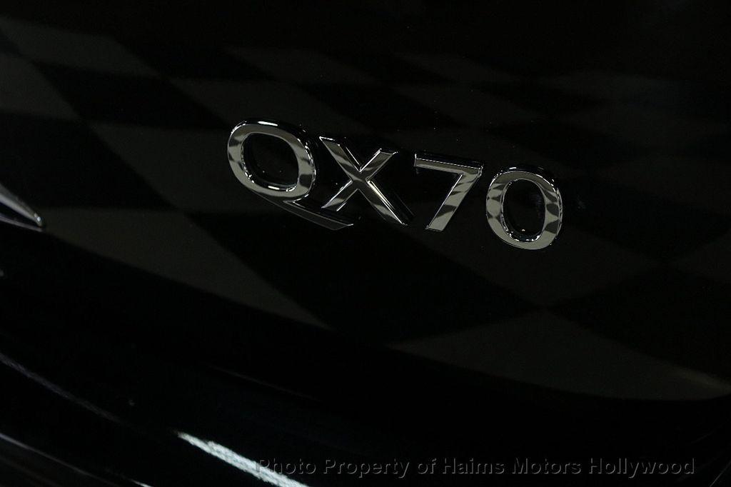 2016 INFINITI QX70 RWD 4dr - 17457675 - 7