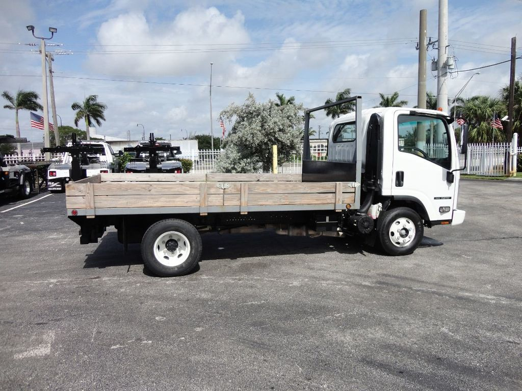 2016 Isuzu NPR 12FT STEEL FLATBED - 17720211 - 9