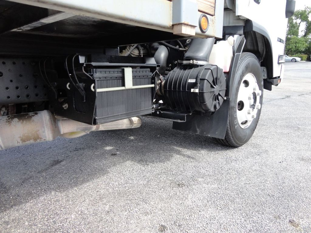 2016 Isuzu NPR 12FT STEEL FLATBED - 17720211 - 14