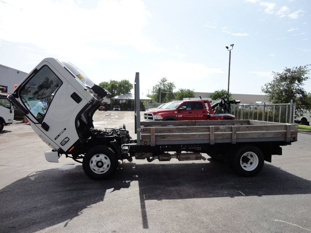 2016 Isuzu NPR 12FT STEEL FLATBED - 17720211 - 23