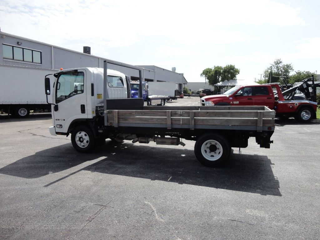 2016 Isuzu NPR 12FT STEEL FLATBED - 17720211 - 5