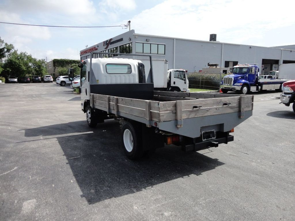 2016 Isuzu NPR 12FT STEEL FLATBED - 17720211 - 6