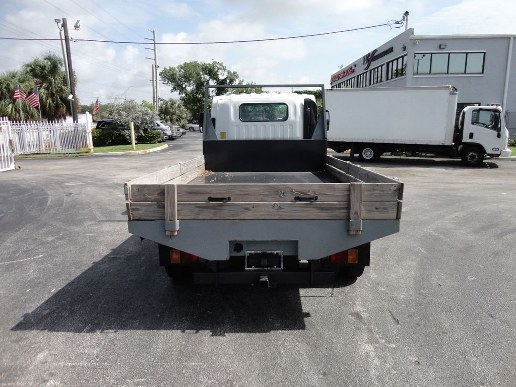 2016 Isuzu NPR 12FT STEEL FLATBED - 17720211 - 7