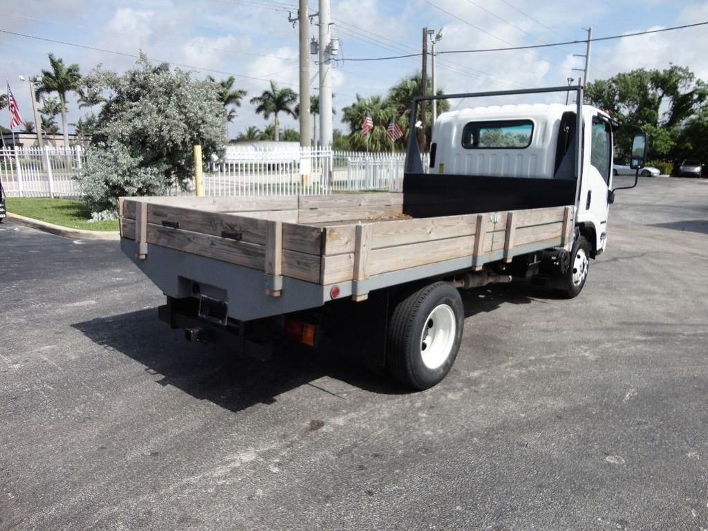 2016 Isuzu NPR 12FT STEEL FLATBED - 17720211 - 8