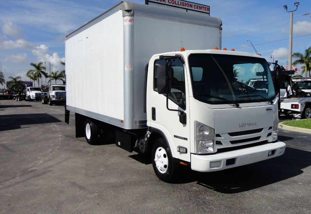 2016 Isuzu NPR HD 16FT DRY BOX TRUCK . TUCK UNDER LIFTGATE CARGO TRUCK - 17788207 - 0
