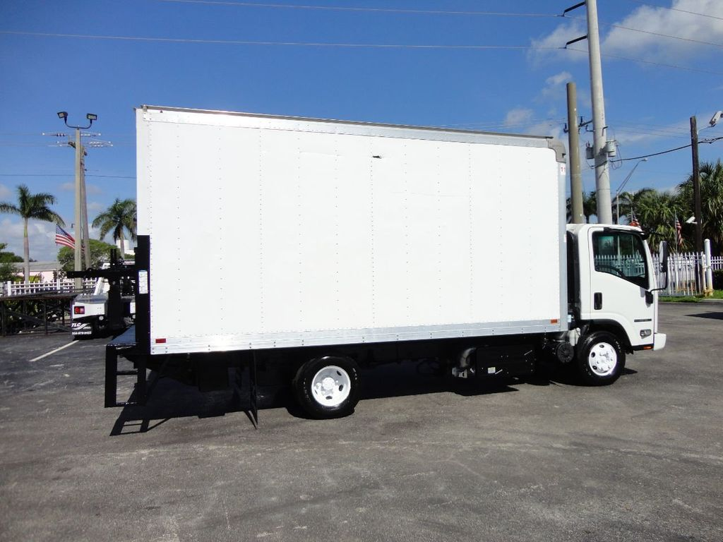 2016 Isuzu NPR HD 16FT DRY BOX TRUCK . TUCK UNDER LIFTGATE CARGO TRUCK - 17788207 - 9